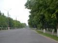 Аллея к инженерному корпусу ЗМЗ